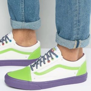 VANS limited edition leather Toy Story Sneakers